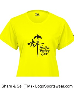 Ladies: Yellow Bee Design Zoom